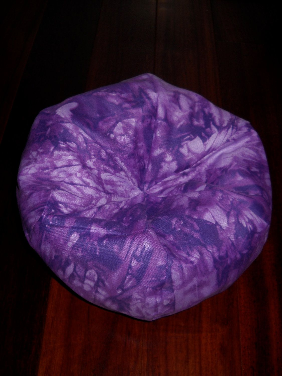 Purple Tiedye Bean Bag Chair