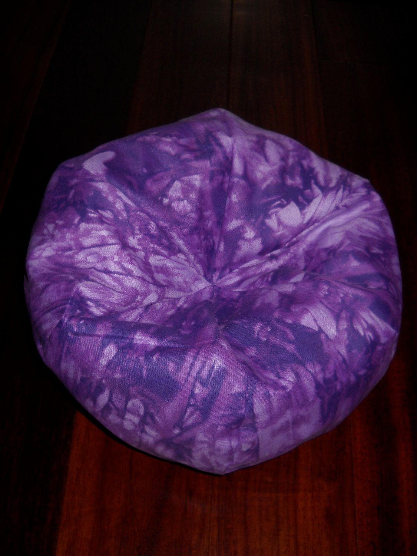 Purple Tiedye Bean Bag Chair