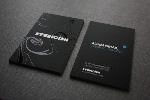 Pin En Business Card Design