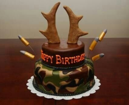 Sayings For A Hunters Birthday Cake