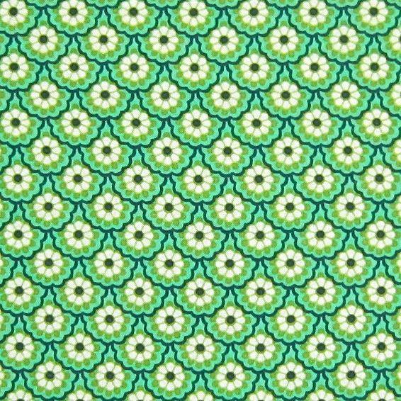 Superbe tissu 100% coton imprimé  de Lylady sur DaWanda.com