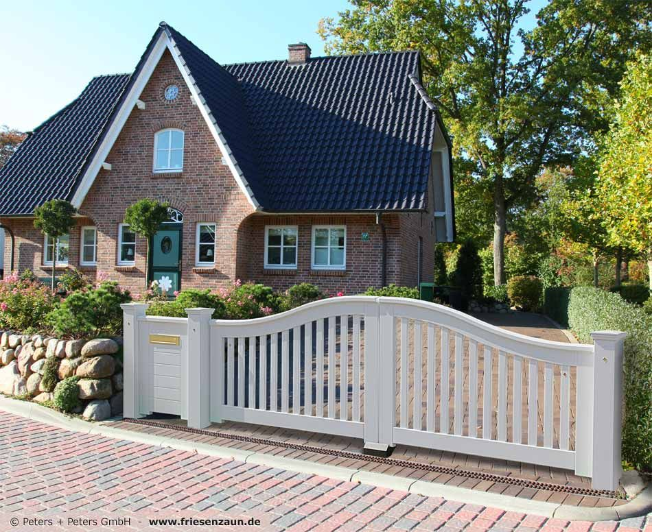 Good Wooden Driveway Gates Garden Gate and Yard Gate painted white or colored guarantee of years