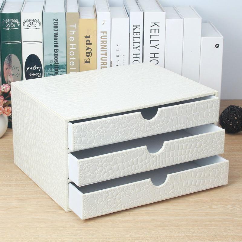 3 Drawer White Desk Organizer White Wood File Cabinet Desk Organization Wooden Drawers White Desk Organiser