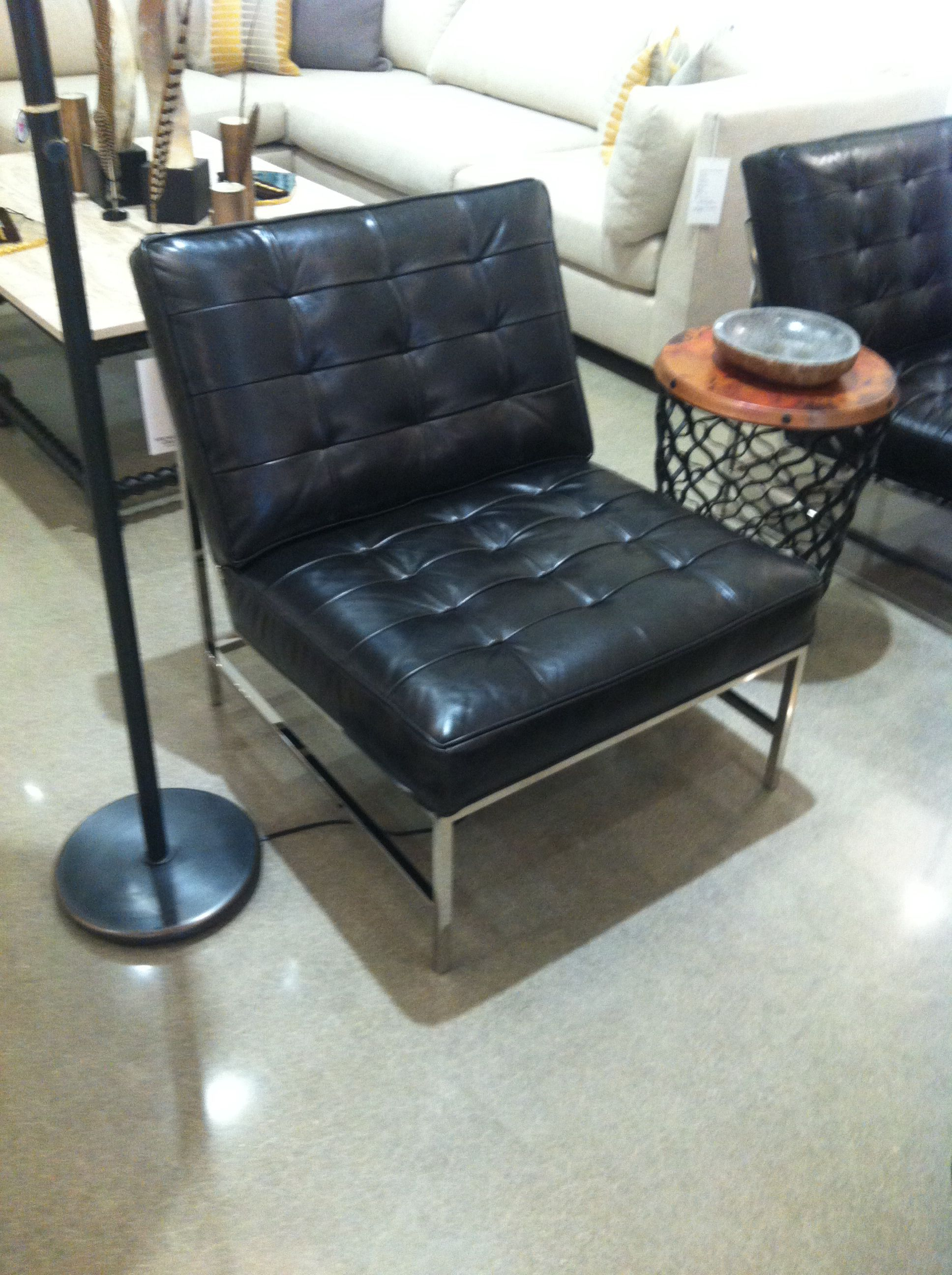 Major Leather Chair Mitchell Gold Bob Williams Chair