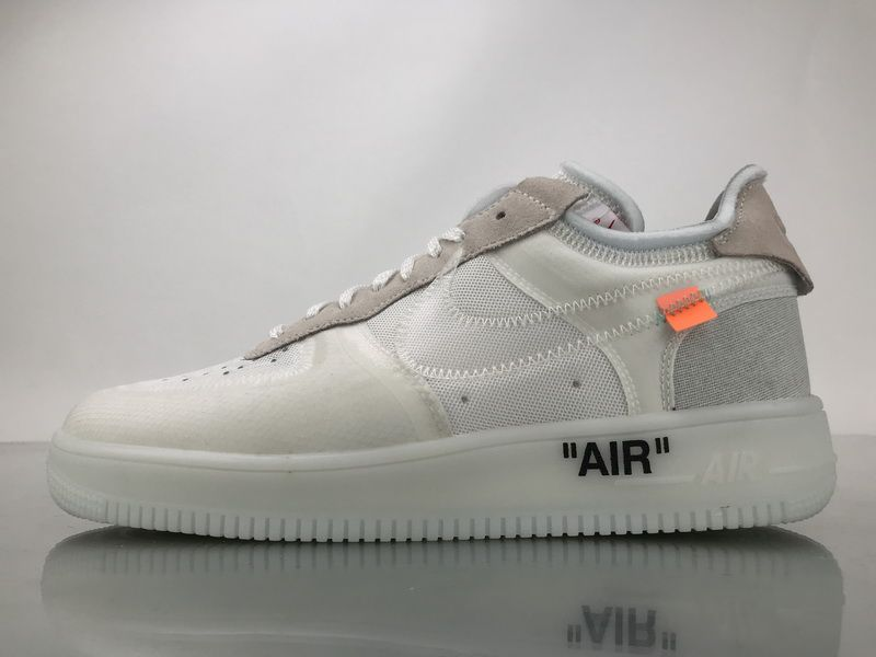 cd94bd06c7f60 Off White x Nike Air Force 1 Low x Virgil Abloh AO4606-100 Shoes1 ...