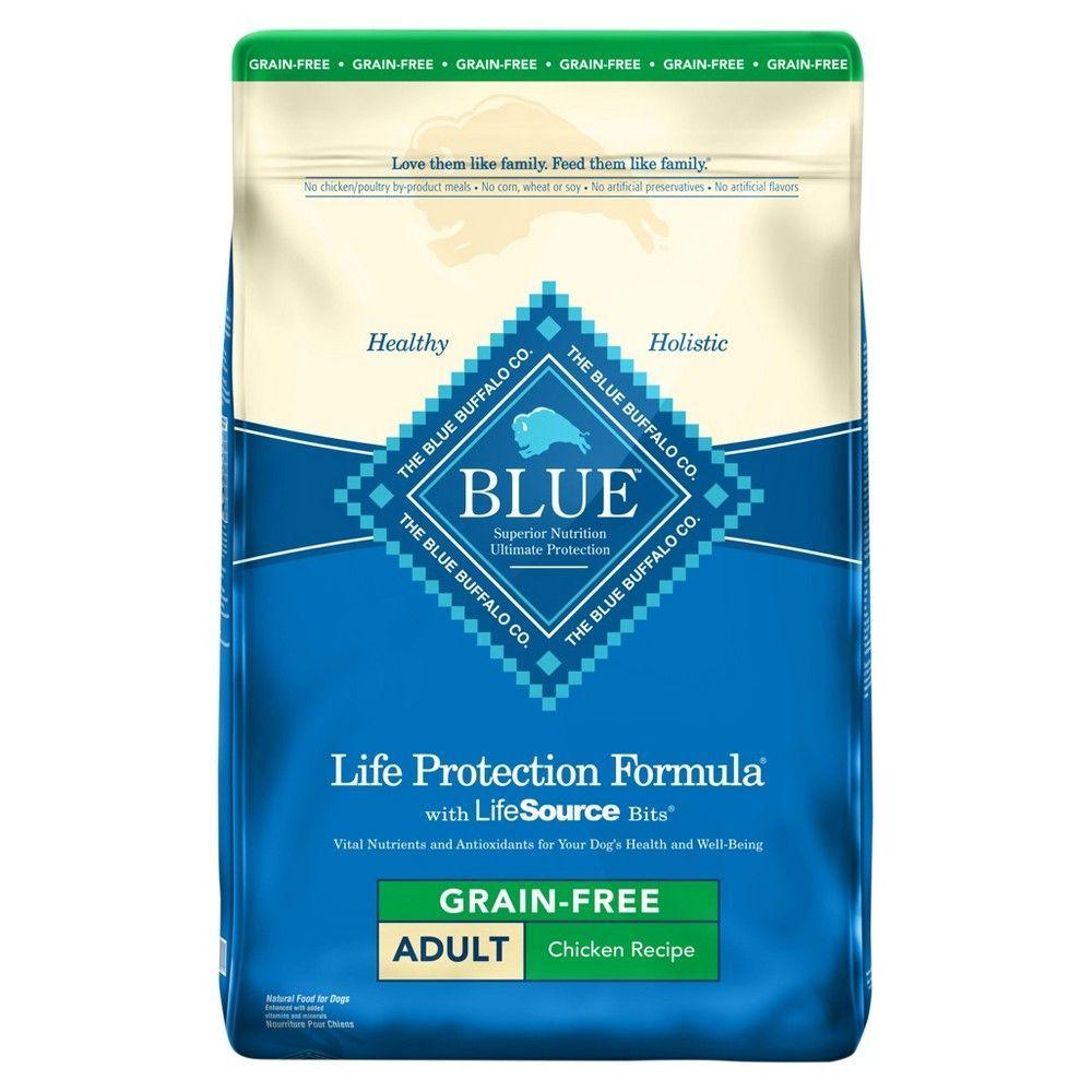 Blue buffalo adult lamb brown rice dry dog food 6lb