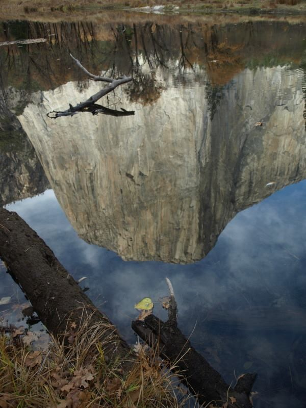 """""""Reflection of El Capitan in the Merced River."""" Photo by: Larry Harrell Fotoware"""