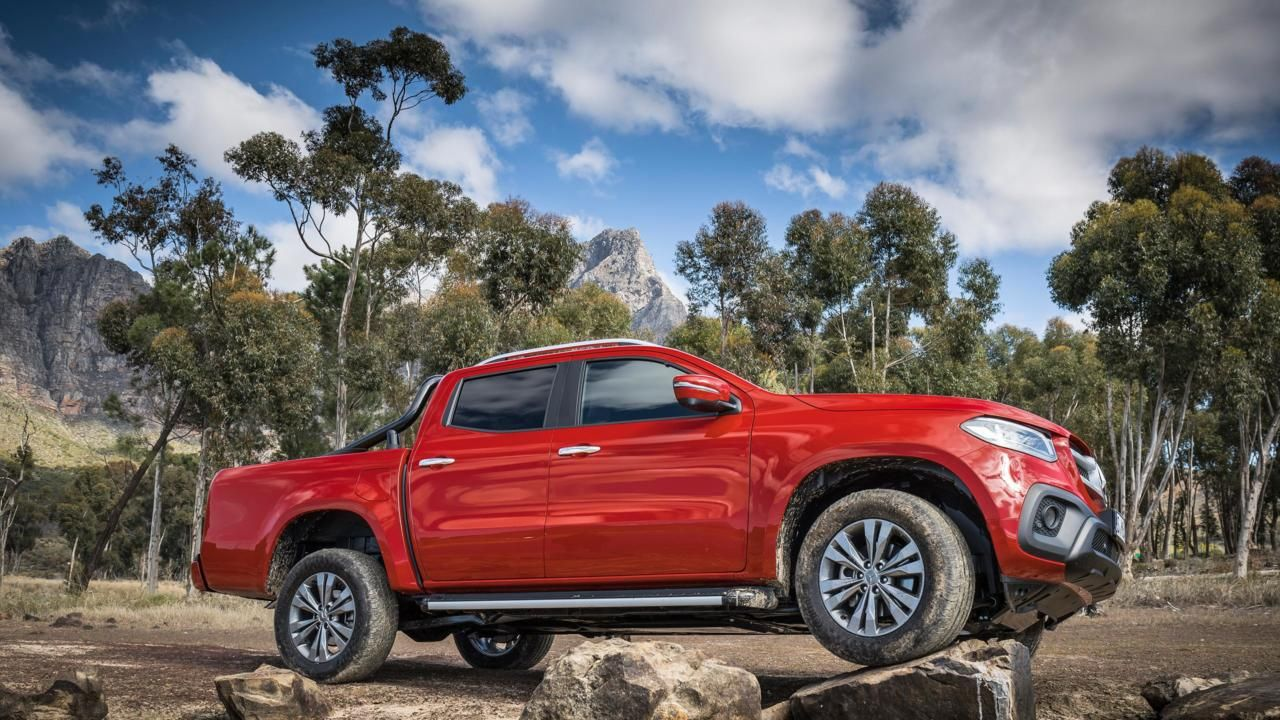 Luxury meets utility in the new Mercedes Benz X-Class
