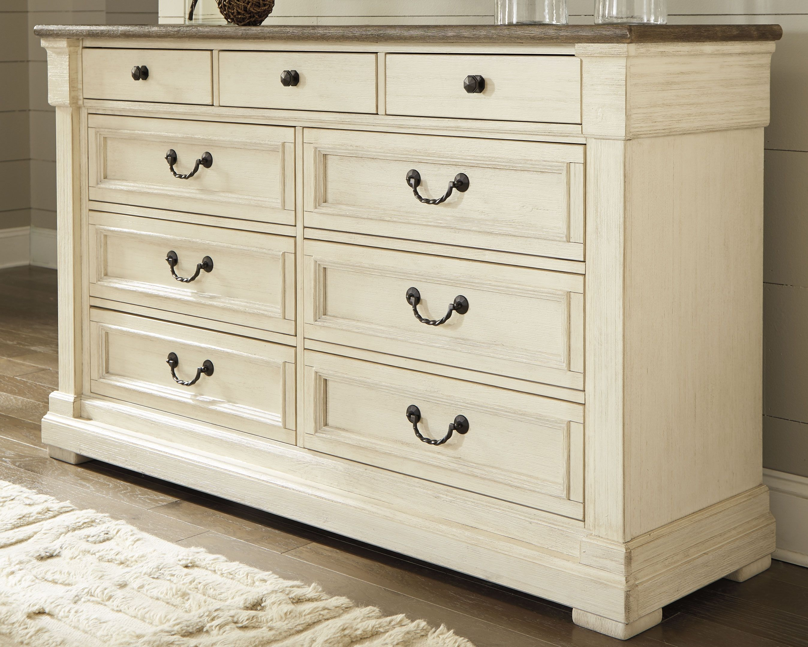 Best Bolanburg Dresser Two Tone Furniture Rustic Farmhouse 400 x 300