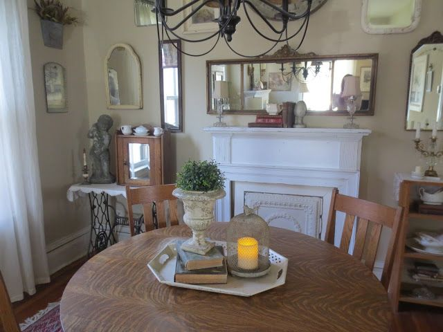 A Spring Refresh In The Dining Room