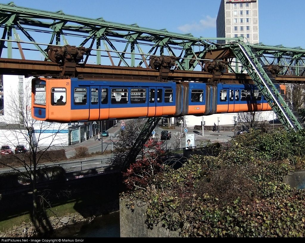 RailPicturesNet Photo 21 Wuppertal Suspension Railway WSW Unknown