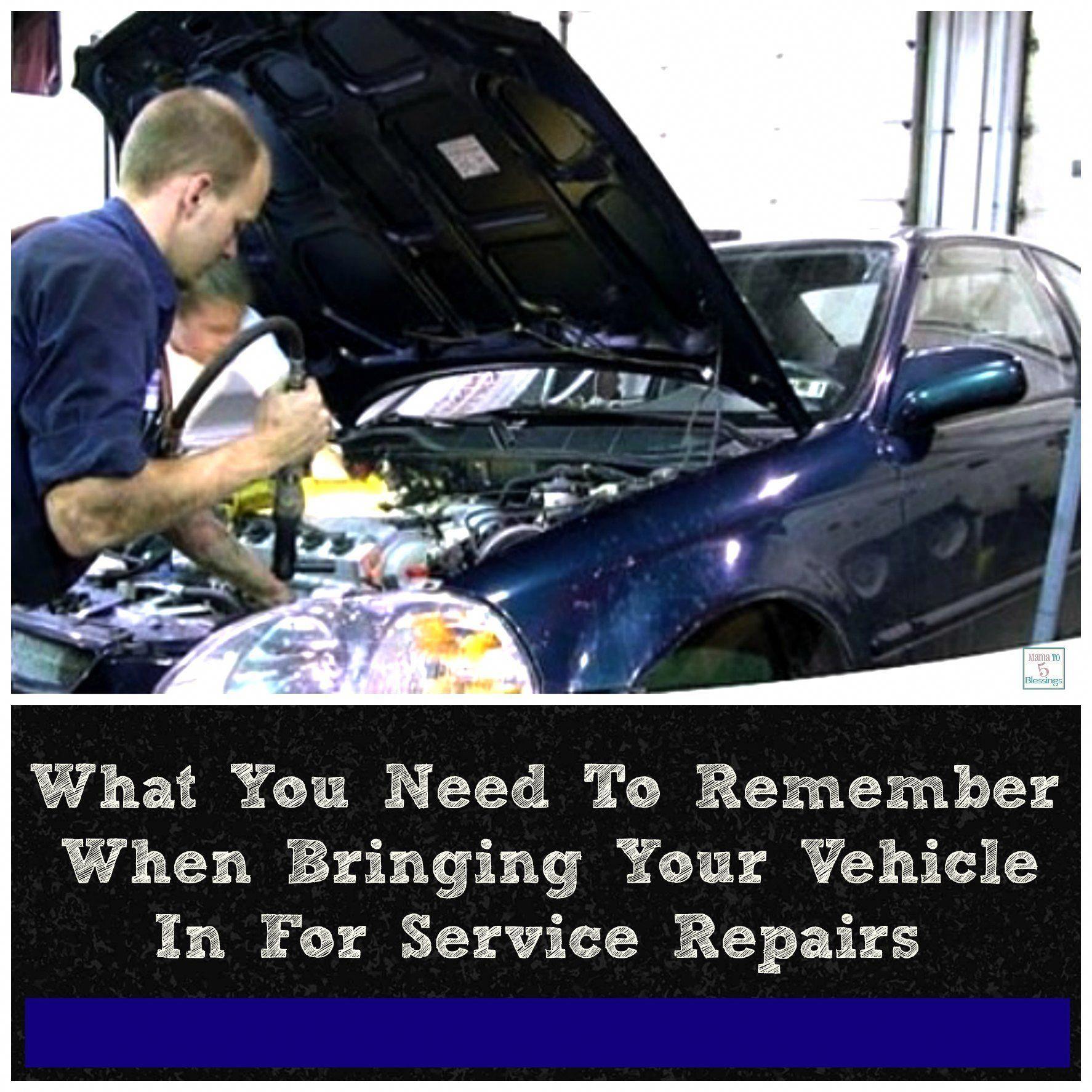 Car Damage And Repair Car Repair Service Car Mechanic