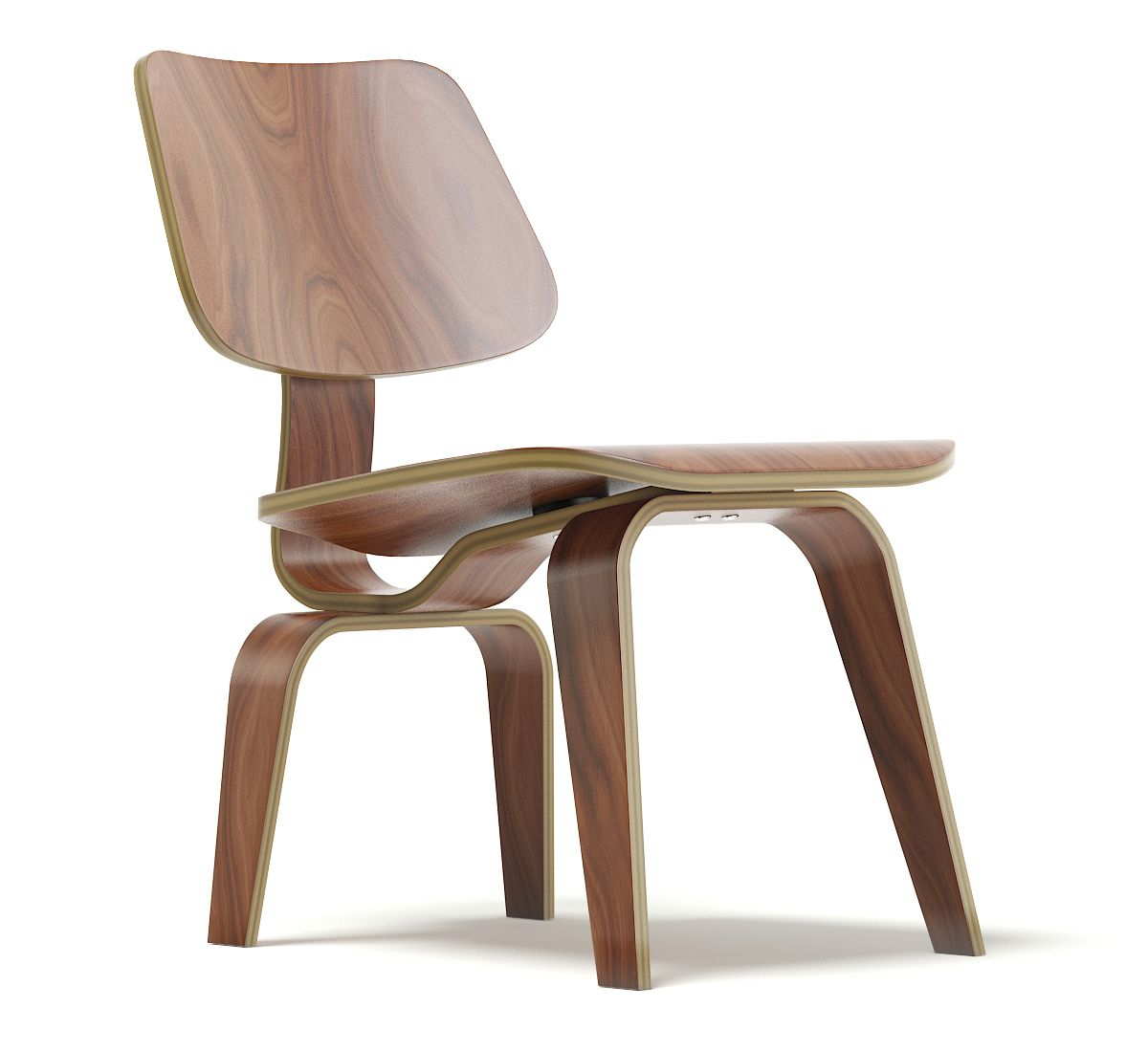 Free 3D Plywood Chair Model | Plywood chair, Chair, Kids