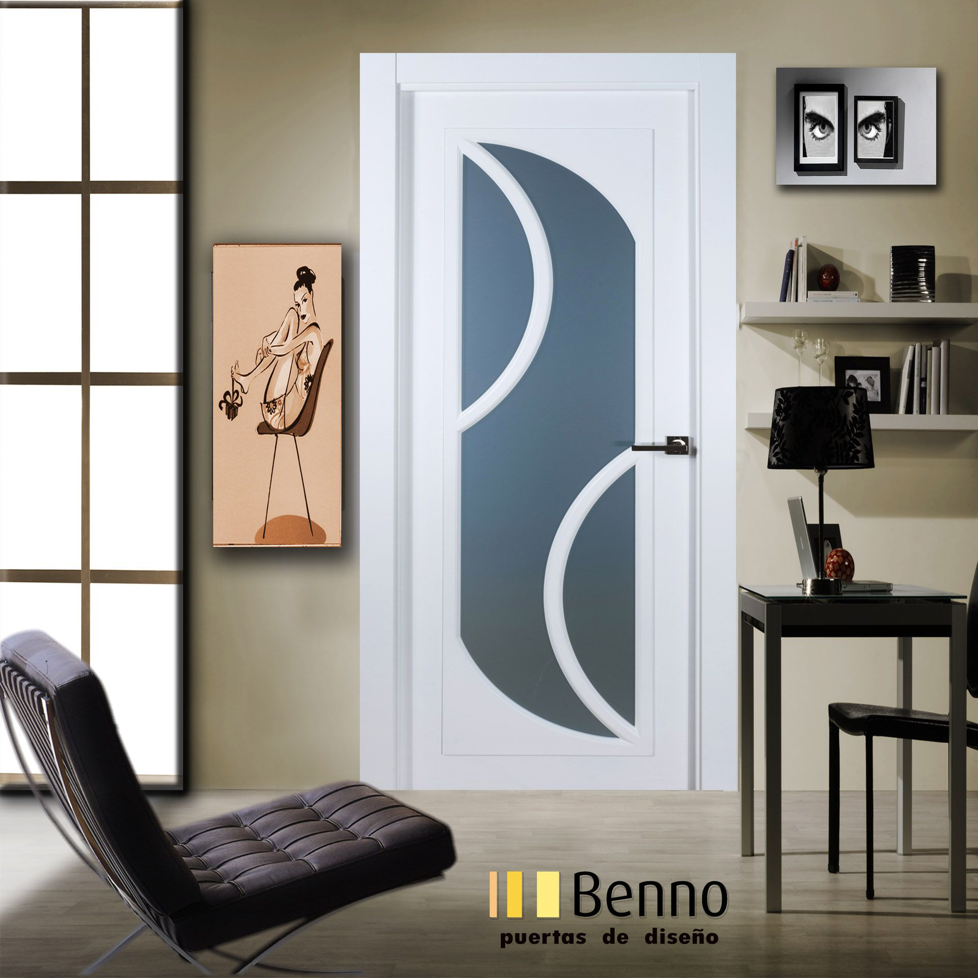 Modelo 4 dise o puertas home pinterest dise o de for Diseno puerta