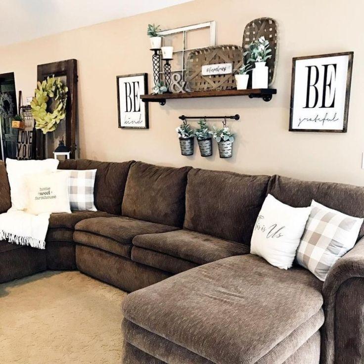 20 Comfy Farmhouse Living Room Decor Ideas Interiores De Casa