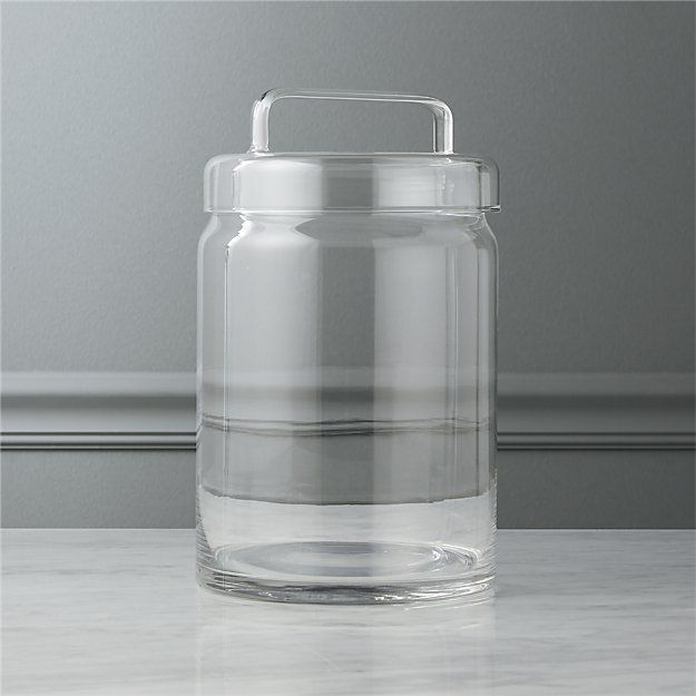 looking glass large canister | CB2