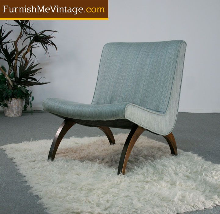 Retro Wave Slipper Chair For the Home Pinterest Retro waves
