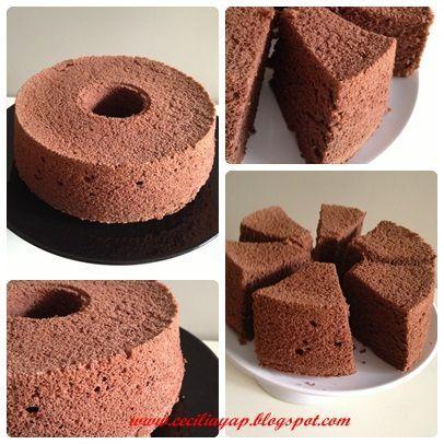 Sassy Haven: Chocolate Nutella Chiffon Cake