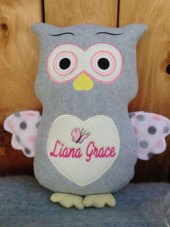 Monogrammed baby gift embroidered owl made in usa exculusively monogrammed baby gift embroidered owl made in usa exculusively offered by personalized by world class negle Gallery