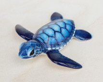 baby sea turtle figurine