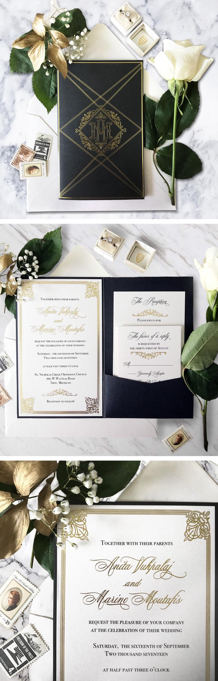 Portfolio | Our Wedding Invitation Designs | Pinterest | Roaring ...