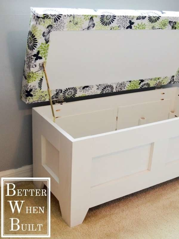 20 Incredible Ideas for a DIY Storage Bench