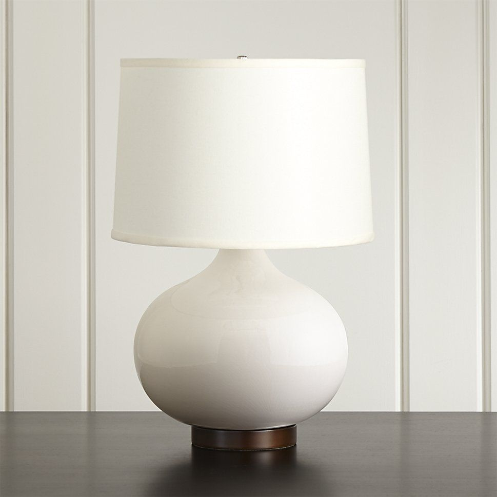 Merie Blue Table Lamp With Bronze Base Blue Table Lamp Grey
