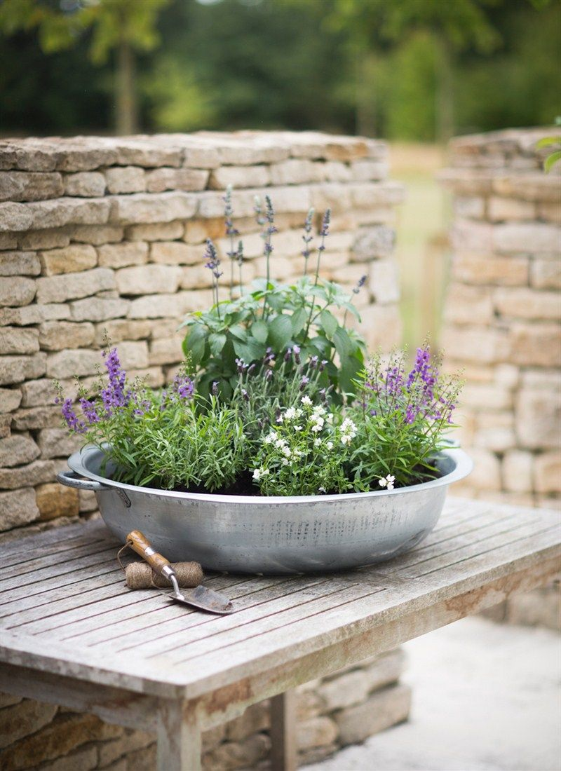 This extra large planter from garden trading will look beautiful in any country garden