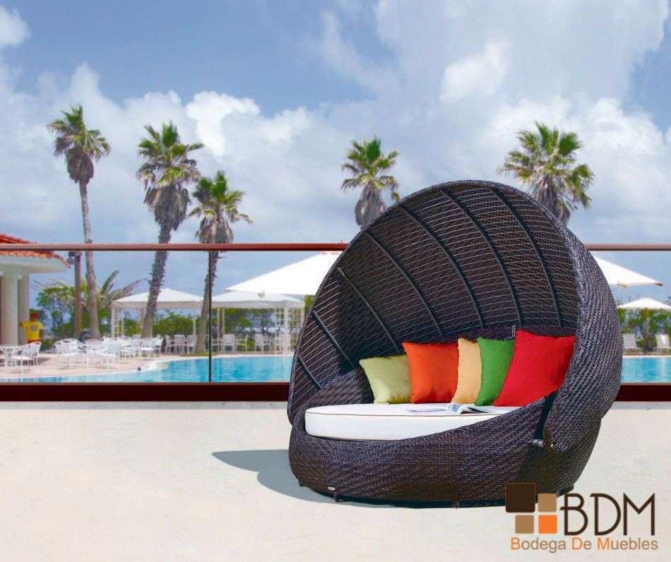 Gorgeous and Unique Outdoor Day Beds | Grandes diseños, Playa y ...