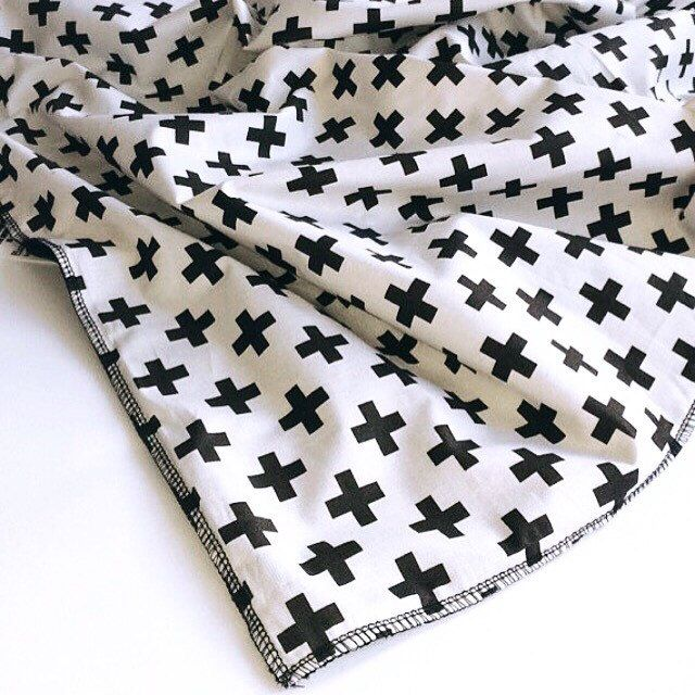For our monochrome lovers... Grab this blanket with a super plush backing. It's up in our SALE section!