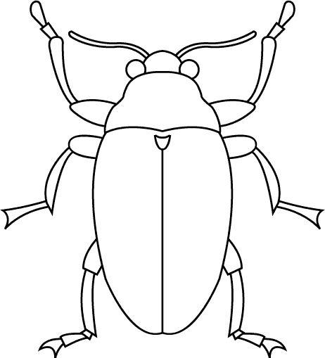 Dibujos Para Colorear Animales 206 Arte De Insectos Lecciones De Arte Artesanias De Insectos