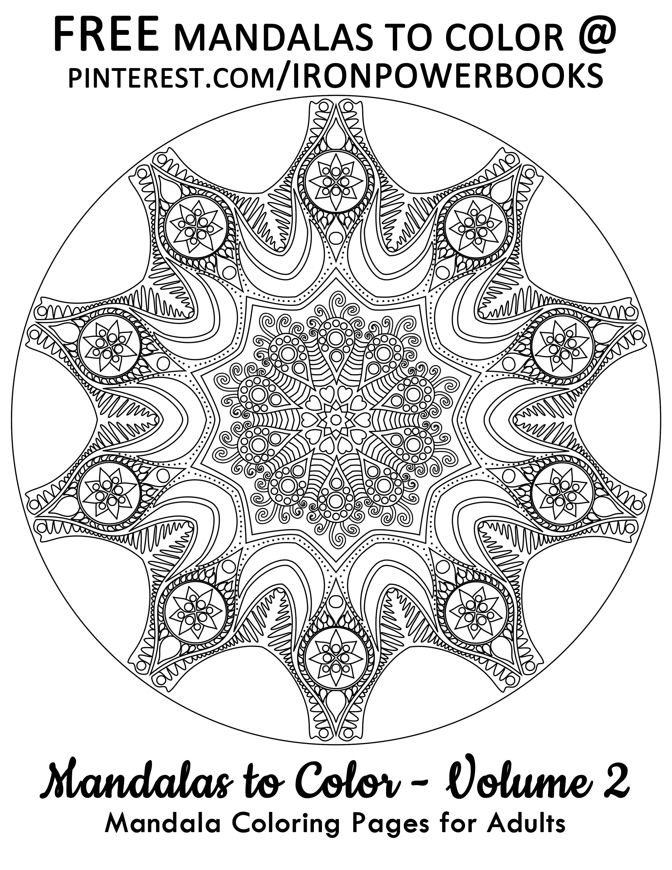 Mandalas For Relaxation Printable Pages For Free For More Of These Designs Visit Http Www Amazon Mandala Coloring Mandala Coloring Pages Coloring Pages