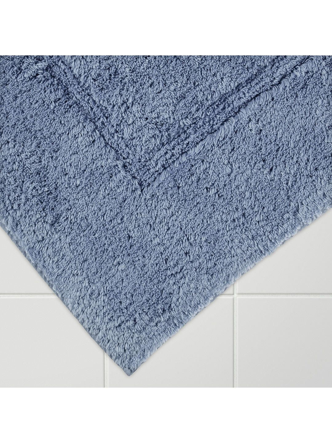 John Lewis Partners Large Deep Pile Bath Mat With Mircofresh Technology 60 X 100cm Carbon Grey Bath Mat Egyptian Cotton Towels John Lewis