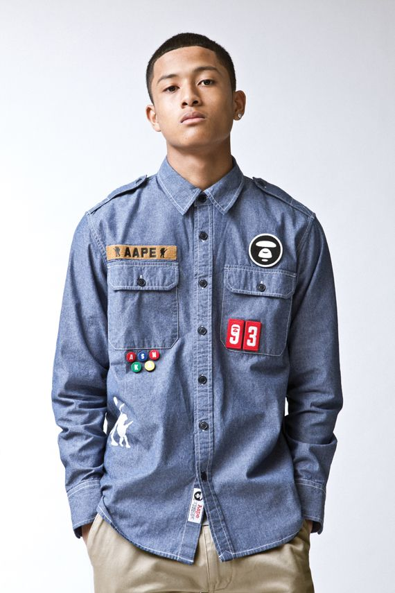 9ce7ebfd AAPE By A Bathing Ape - Spring/Summer 2012 Collection Lookbook | My ...