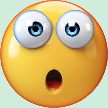 er smiley motic ne clipart cartoon visage jaune surpris fond transparent gratuit la. Black Bedroom Furniture Sets. Home Design Ideas