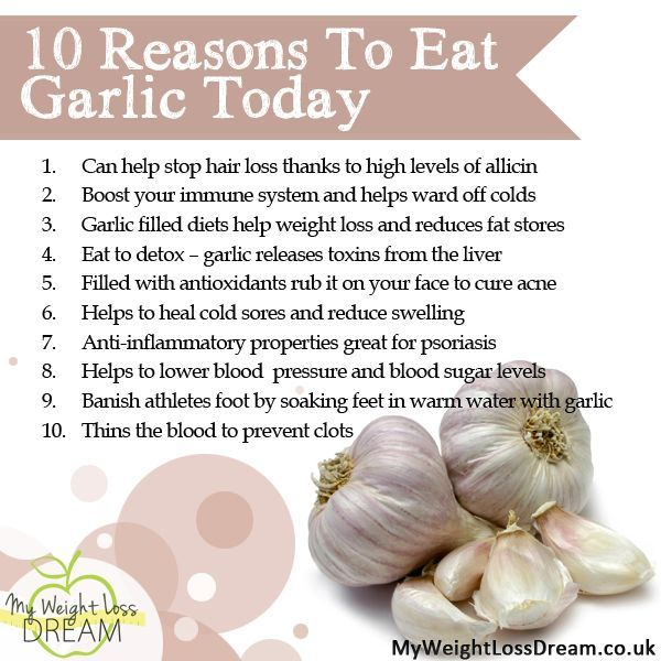 garlic pills to lose weight