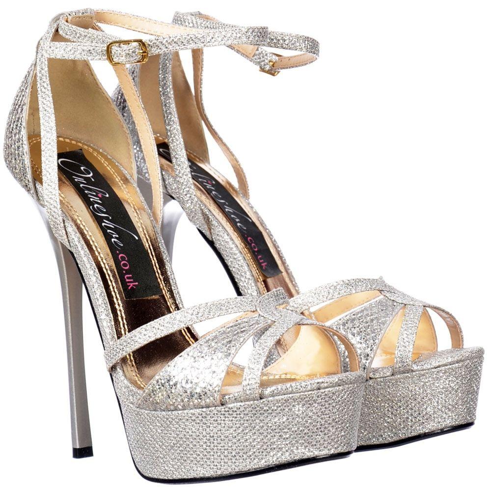 948199ac37b642 silver sparkly strappy heels