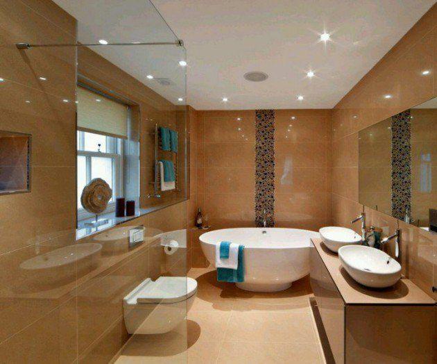 14 Luxury Small But Functional Bathroom Design Ideas | Bathroom Designs,  Small Living And Small Apartments