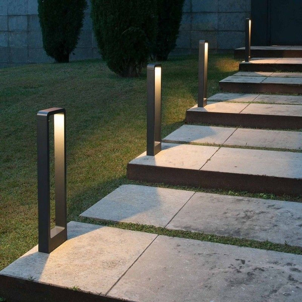 Balise Led Exterieure Das Ip54 H65 Cm Anthracite Taille