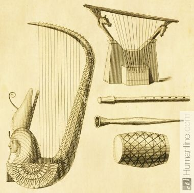 Ancient Egyptian Drum and Tambourine | Music ~ Ancient Music ...