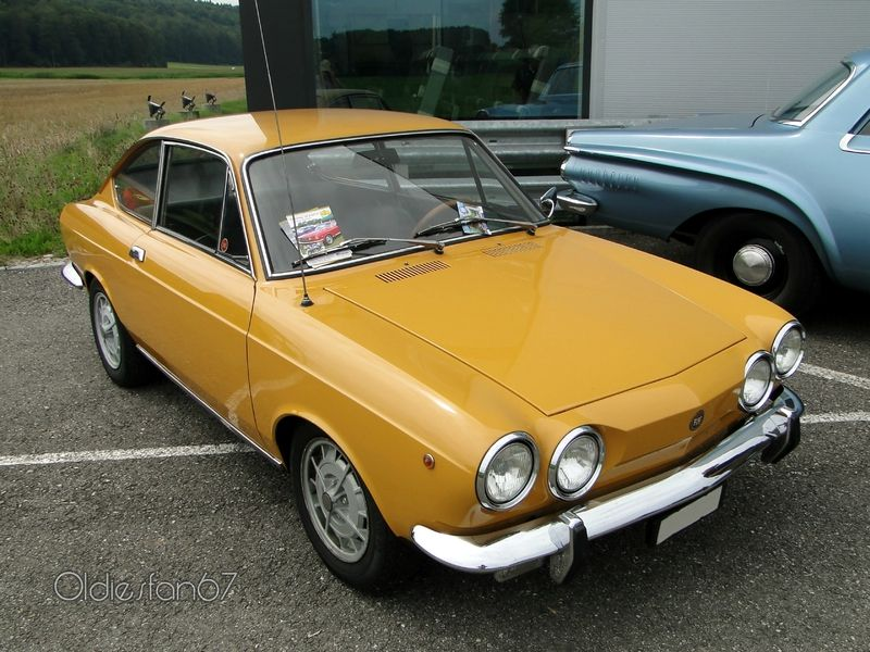 1971 1972 Fiat 850 Sport Coupe 3 Series Coches Clasicos Coches