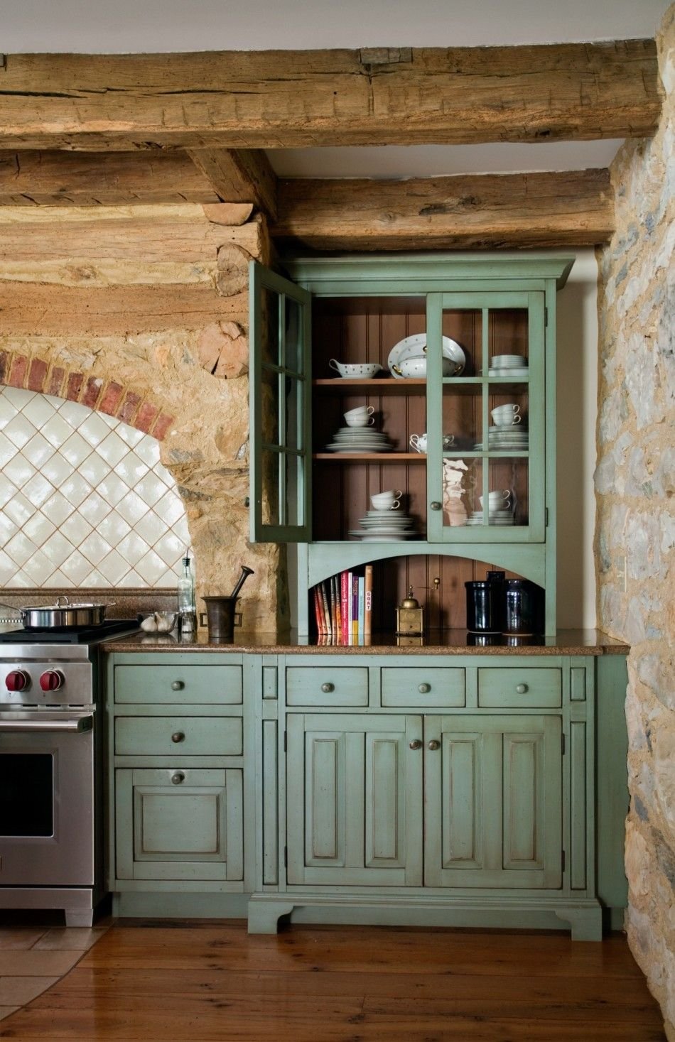 Cold Springs Farm In Malvern Farmhouse Style Kitchen Cabinets Farmhouse Style Kitchen Rustic Kitchen Cabinets