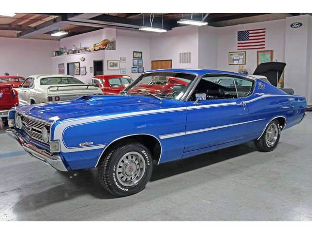1968 Ford Torino Gt Fastback 390 4 Barrel 4 Speed With Images