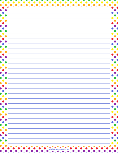 graphic regarding Printable Stationary With Lines identify Pin as a result of Muse Printables upon Stationery at
