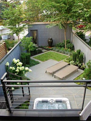Creative Solutions For Small E Outdoor Living Kert Pinterest