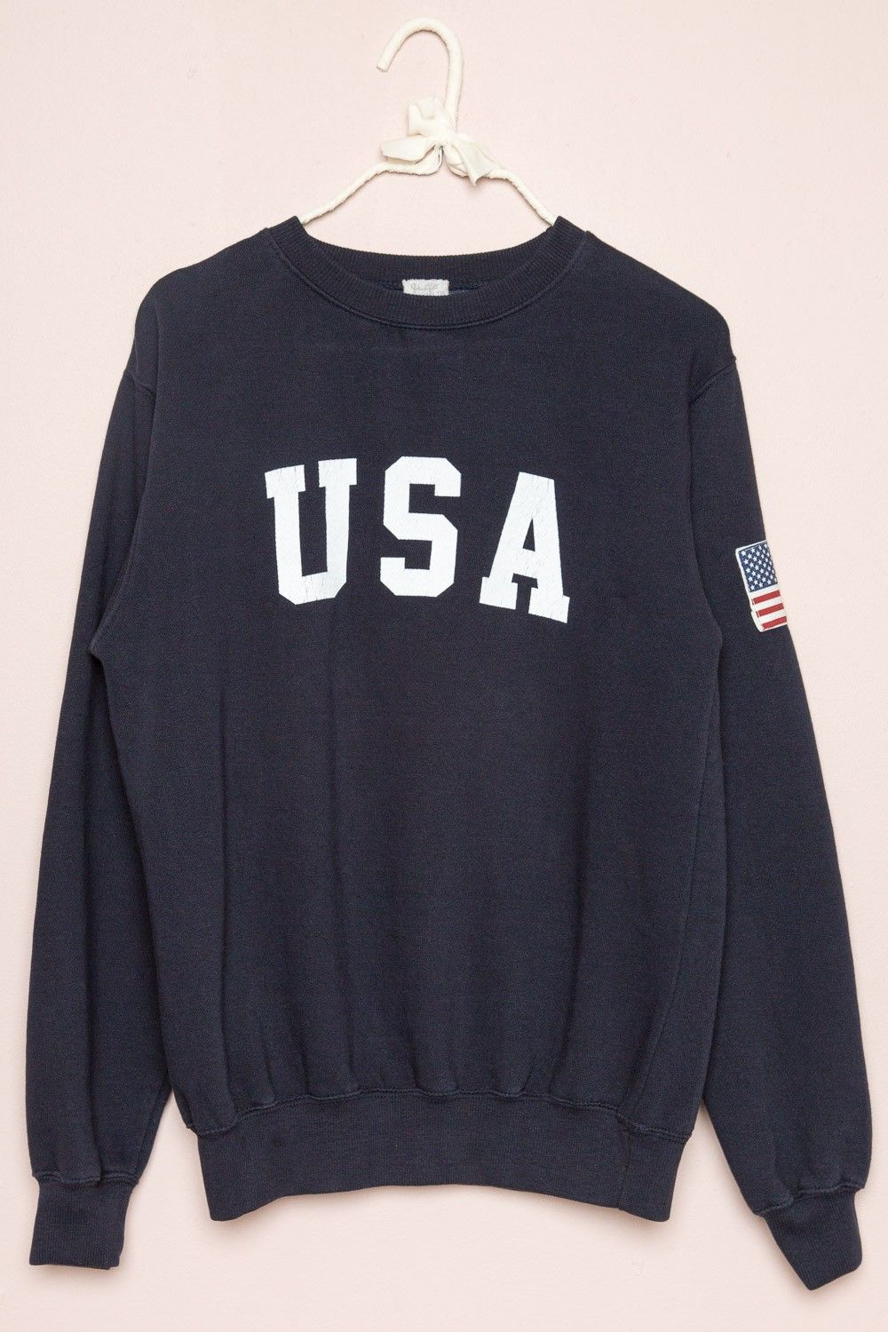 348d66d48 Brandy ♥ Melville | Erica USA Sweatshirt - Graphics | keepin' it ...