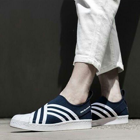 check out e9dff dcfd6 ADIDAS SLIP ON X WHITE MOUNTAINEERING | FAV | Adidas slip on ...