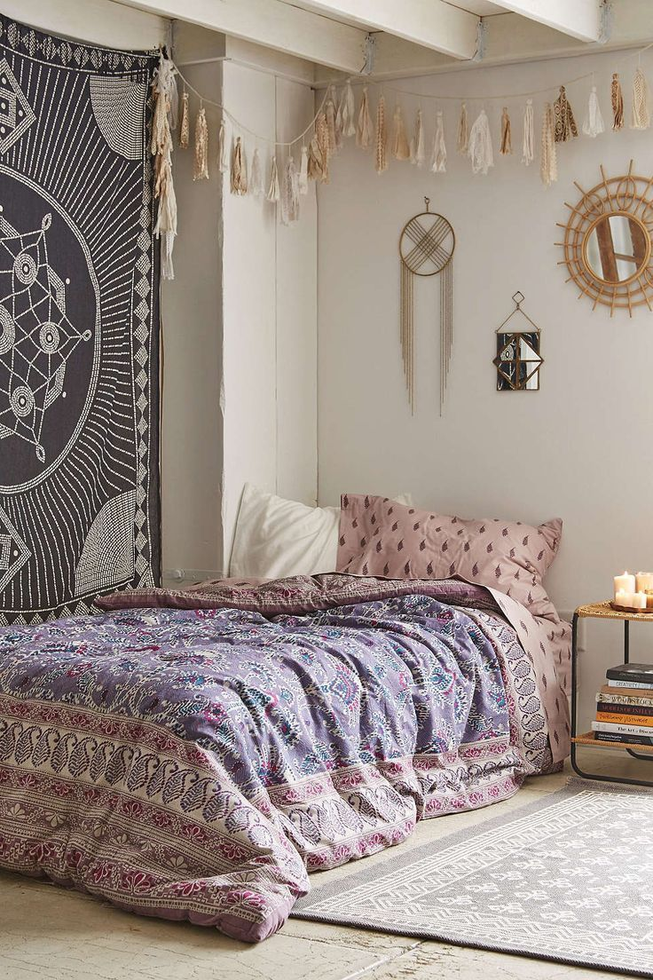 bohemian bedroom beach boho chic home decor design free - Bohemian Bedroom Design