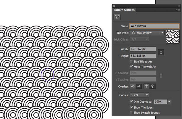 Create A Repeating Pattern In Illustrator Illustrator Tutorials