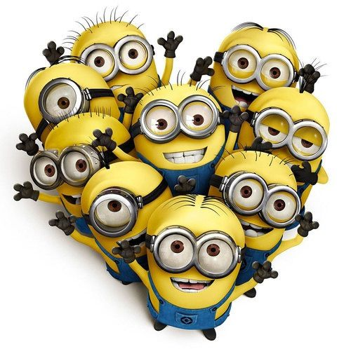 Love with minions!